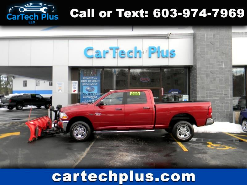 2011 RAM 2500 SLT CREW CAB 5.7L HEMI POWERED PLOW TRUCK