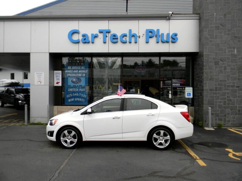 Chevrolet Sonic 1LTZ Sedan 2014