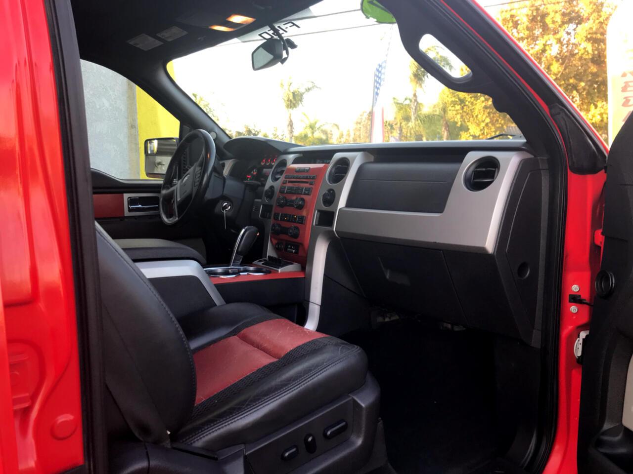 Ford F-150 SVT Raptor SuperCrew 5.5-ft. Bed 4WD 2011