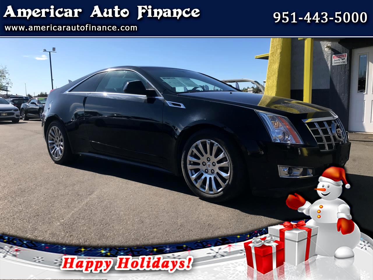 Cadillac CTS Performance Coupe AWD w/ Navigation 2013