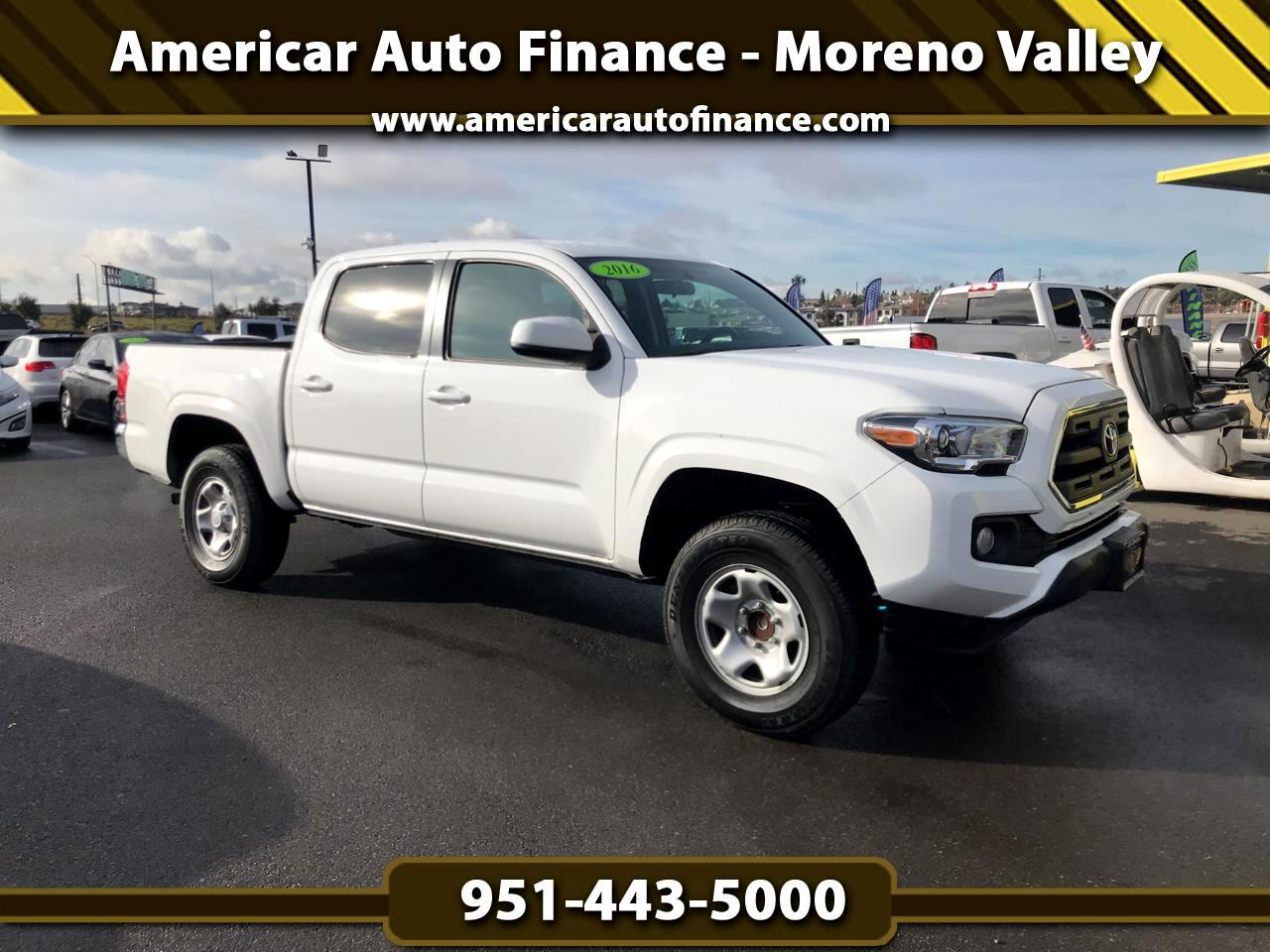 Toyota Tacoma SR5 Double Cab Long Bed V6 6AT 2WD 2016