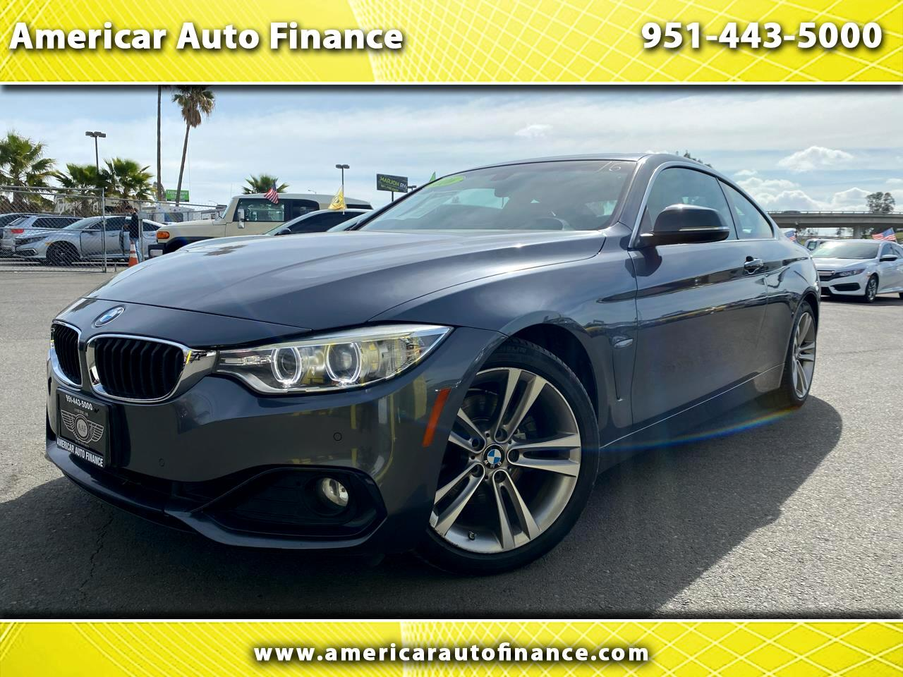 BMW 4-Series 428 coupe 2016
