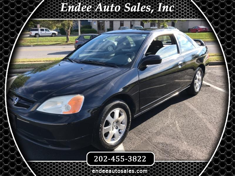 2003 Honda Civic Coupe 2dr CVT EX