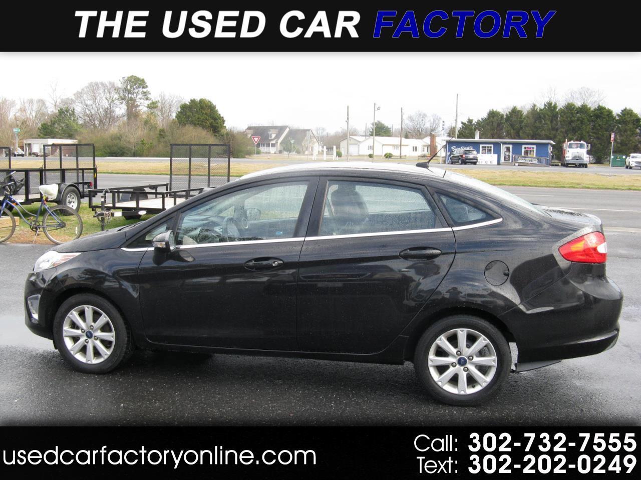 Ford Fiesta SEL Sedan 2011
