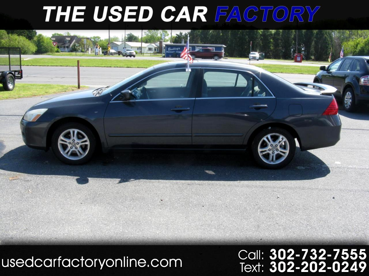 Honda Accord EX-L Sedan AT with Navigation and XM Radio 2006
