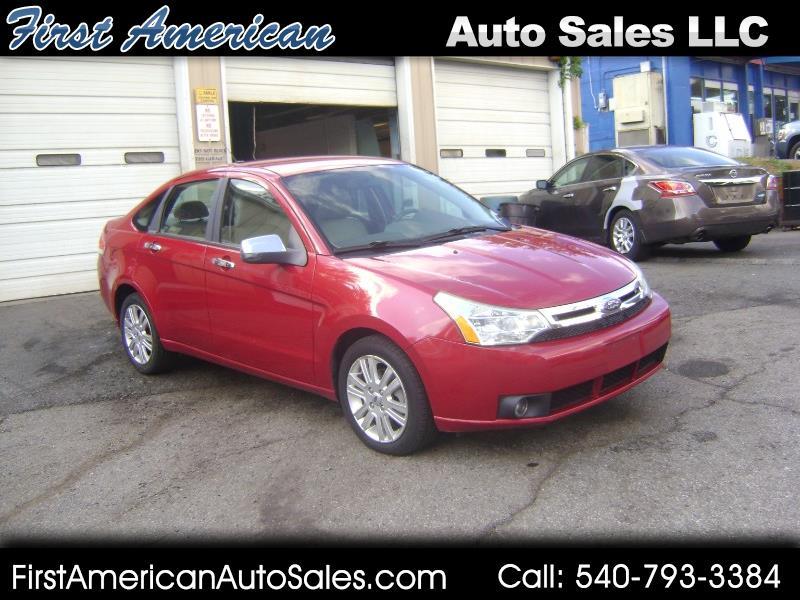 2010 Ford Focus SEL Sedan