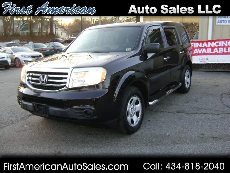 Honda Pilot LX 4WD 5-Spd AT 2013