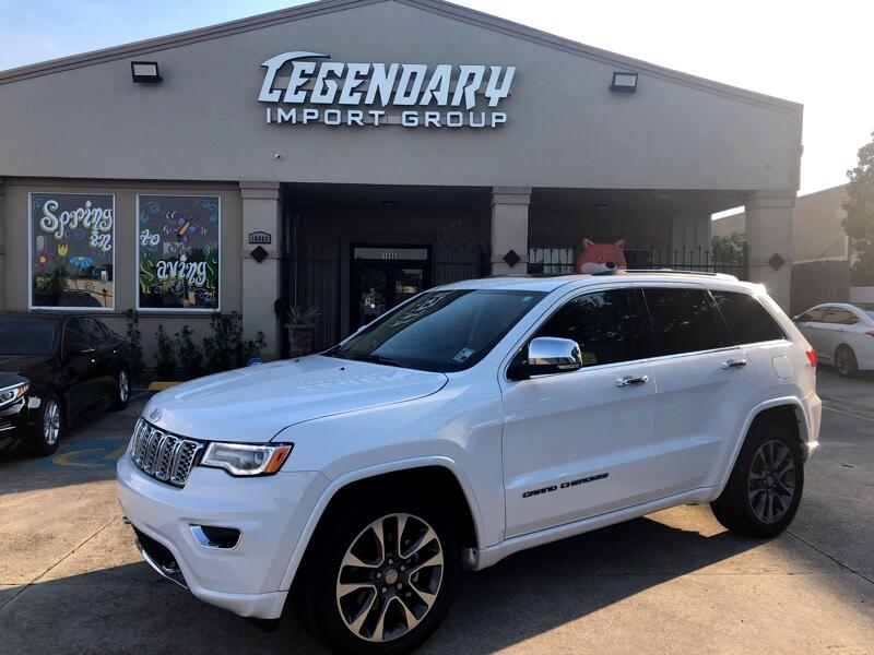 2018 Jeep Grand Cherokee Overland 2WD