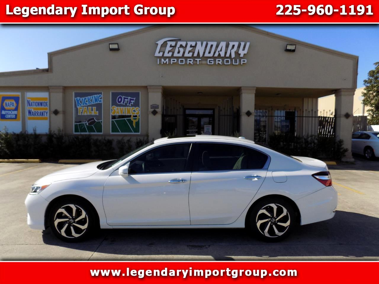 Honda Accord Sedan EX CVT 2017