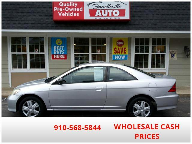 2004 Honda Civic LX Coupe AT