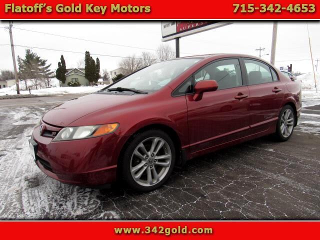 Honda Civic Si Sedan with Navigation 2008