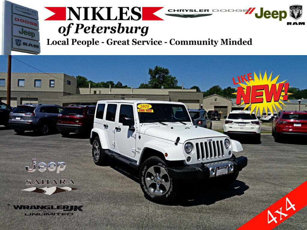 2018 Jeep Wrangler 4WD 4dr Unlimited Sahara