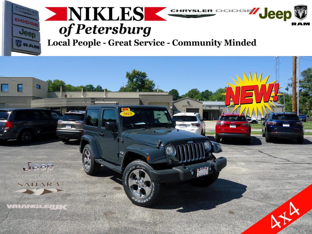 2018 Jeep Wrangler JK Sahara 4WD
