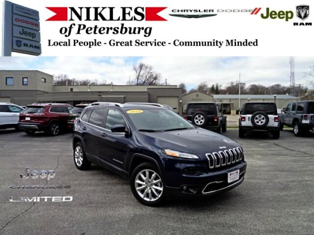 2014 Jeep Cherokee FWD 4dr Limited