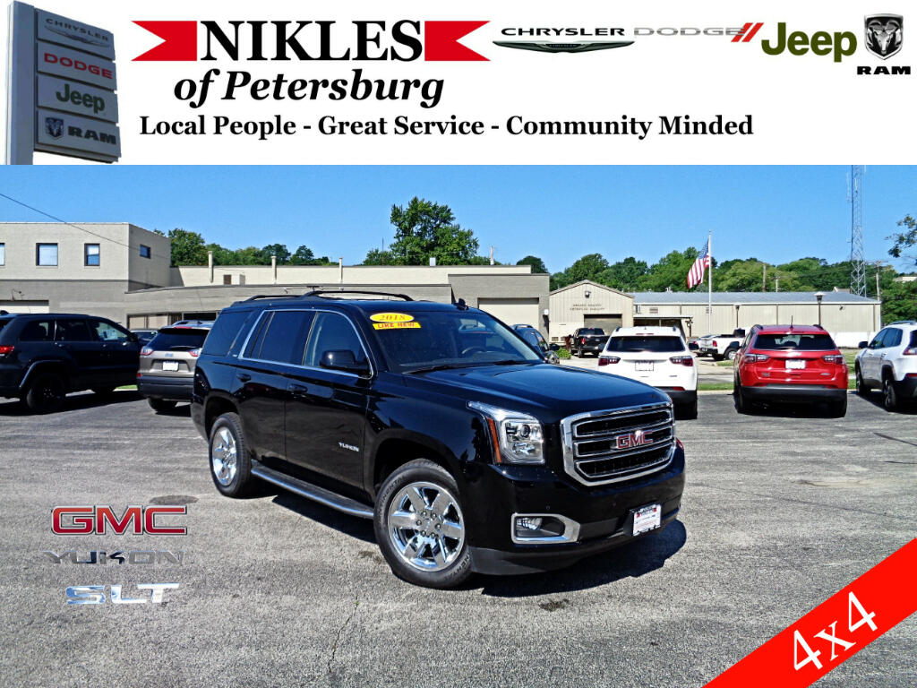 2018 GMC Yukon 4WD 4dr 1500 SLT