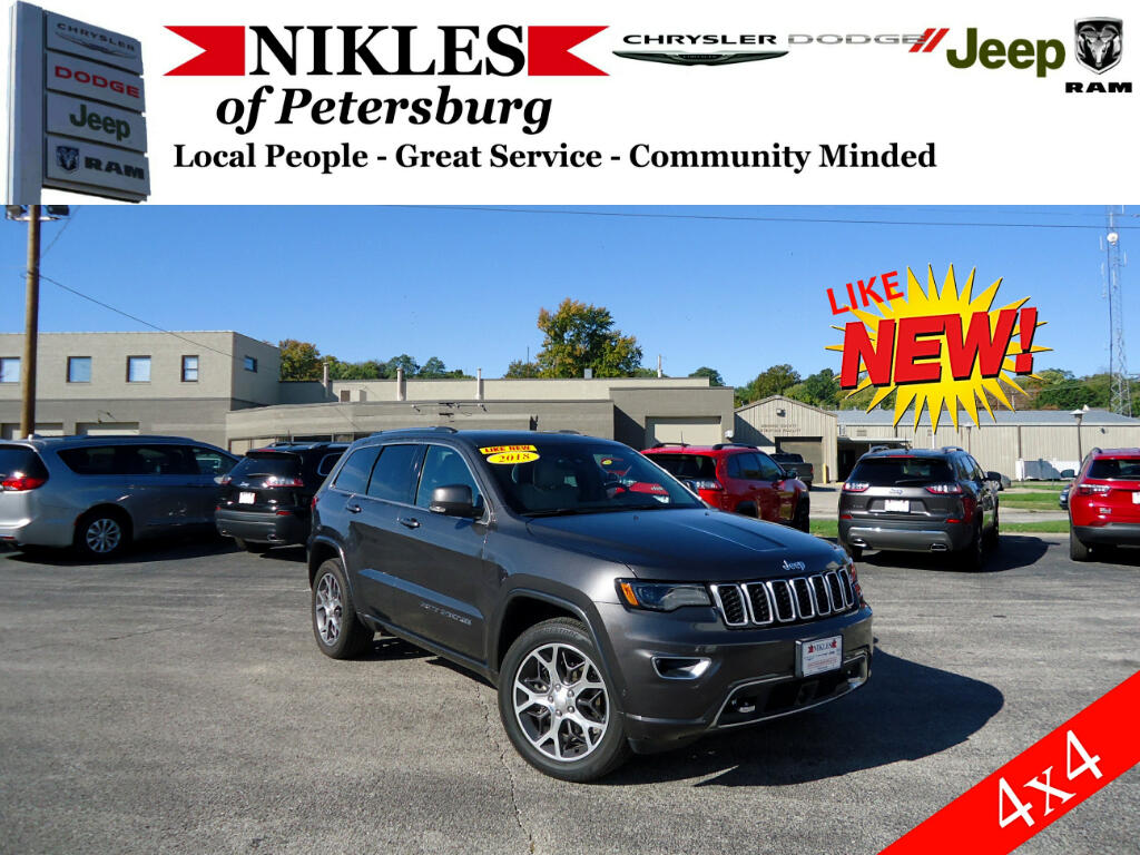 2018 Jeep Grand Cherokee Sterling Edition 4x4