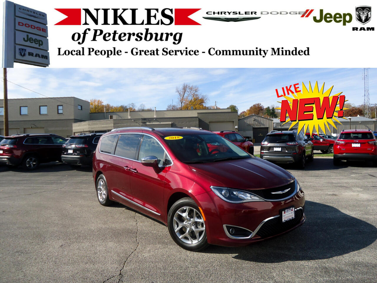 2018 Chrysler Pacifica 4dr Wgn Limited FWD