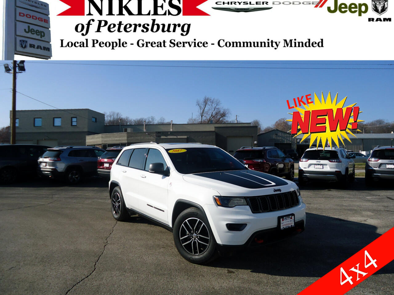 2017 Jeep Grand Cherokee 4WD 4dr Trailhawk