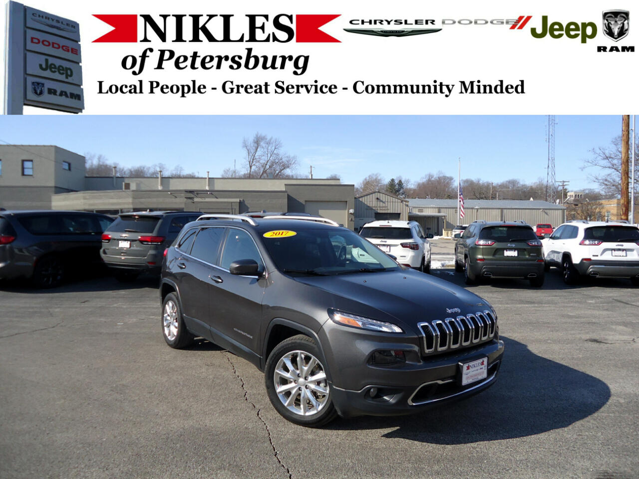2017 Jeep Cherokee FWD 4dr Limited