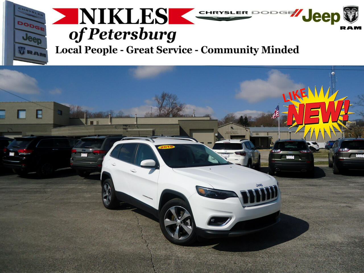 2019 Jeep Cherokee FWD 4dr Limited