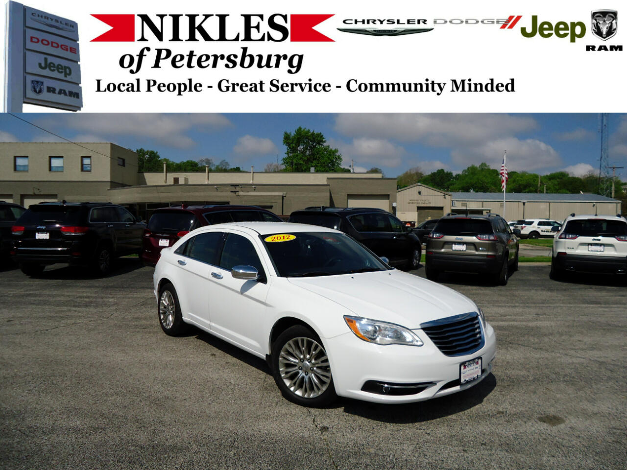 2012 Chrysler 200 4dr Sdn Limited FWD