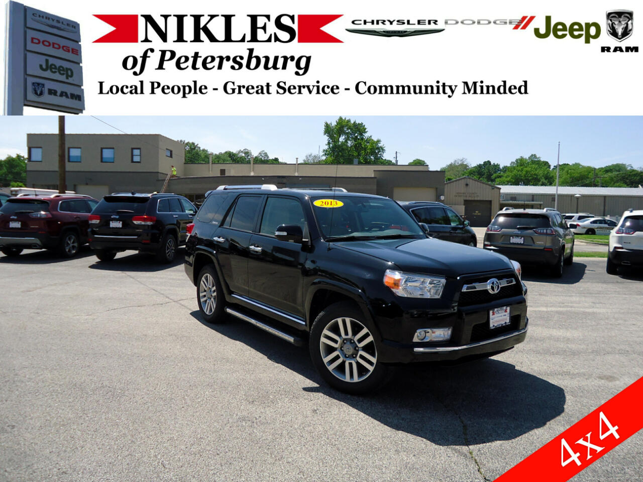 2013 Toyota 4Runner 4WD 4dr V6 Limited (Natl)
