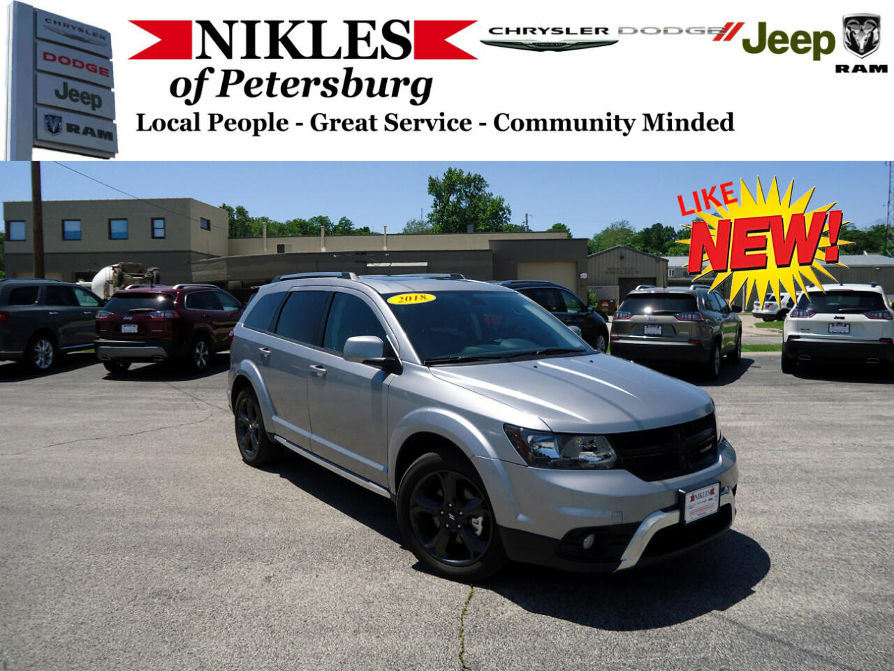 2018 Dodge Journey AWD 4dr Crossroad