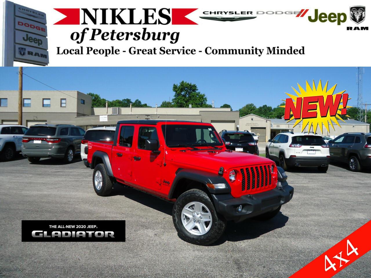 Jeep Gladiator Sport S 4x4 2020