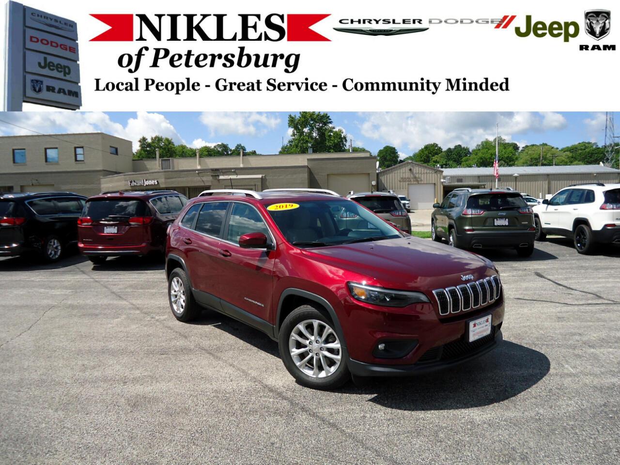 Jeep Cherokee 4WD 4dr Latitude 2019