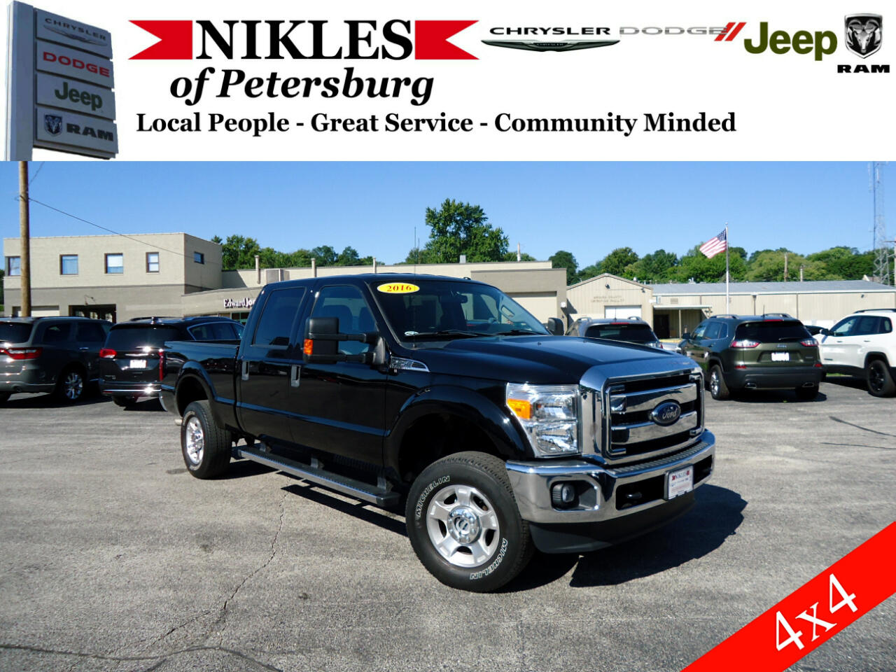 "Ford Super Duty F-250 SRW 4WD Crew Cab 156"" XL 2016"
