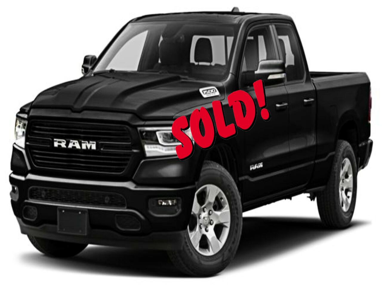 """2019 RAM 1500 4WD Crew Cab 140.5"""" Laramie"""
