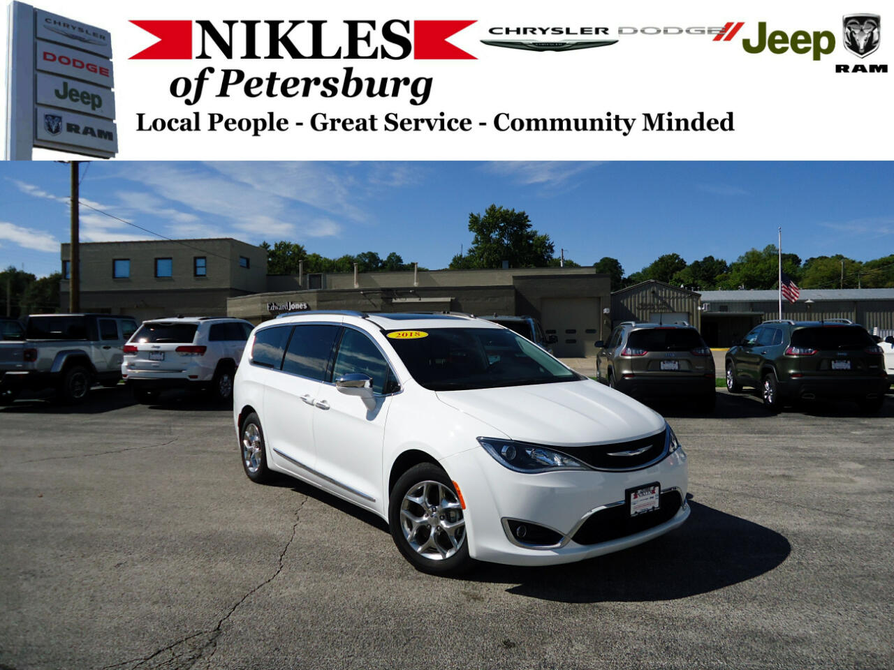 Chrysler Pacifica 4dr Wgn Limited FWD 2018
