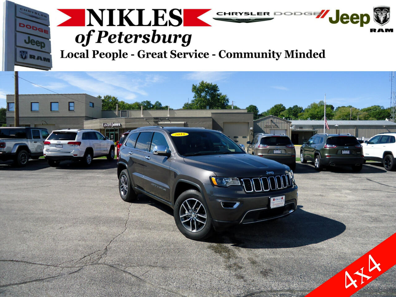 Jeep Grand Cherokee 4WD 4dr Limited 2018