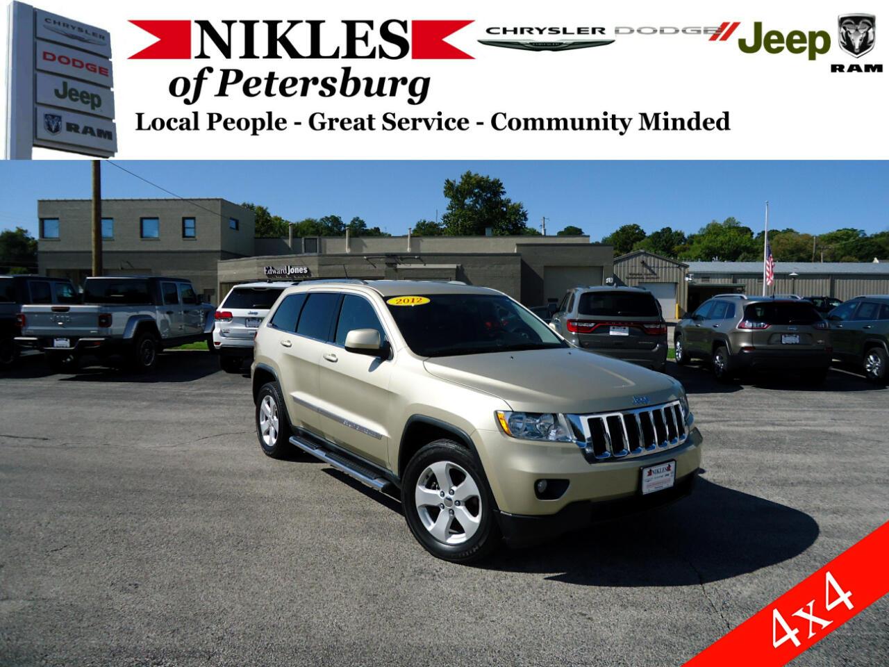 Jeep Grand Cherokee 4dr Laredo 4WD 2012