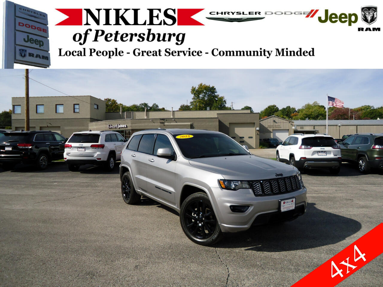 Jeep Grand Cherokee 4WD 4dr Altitude 2018