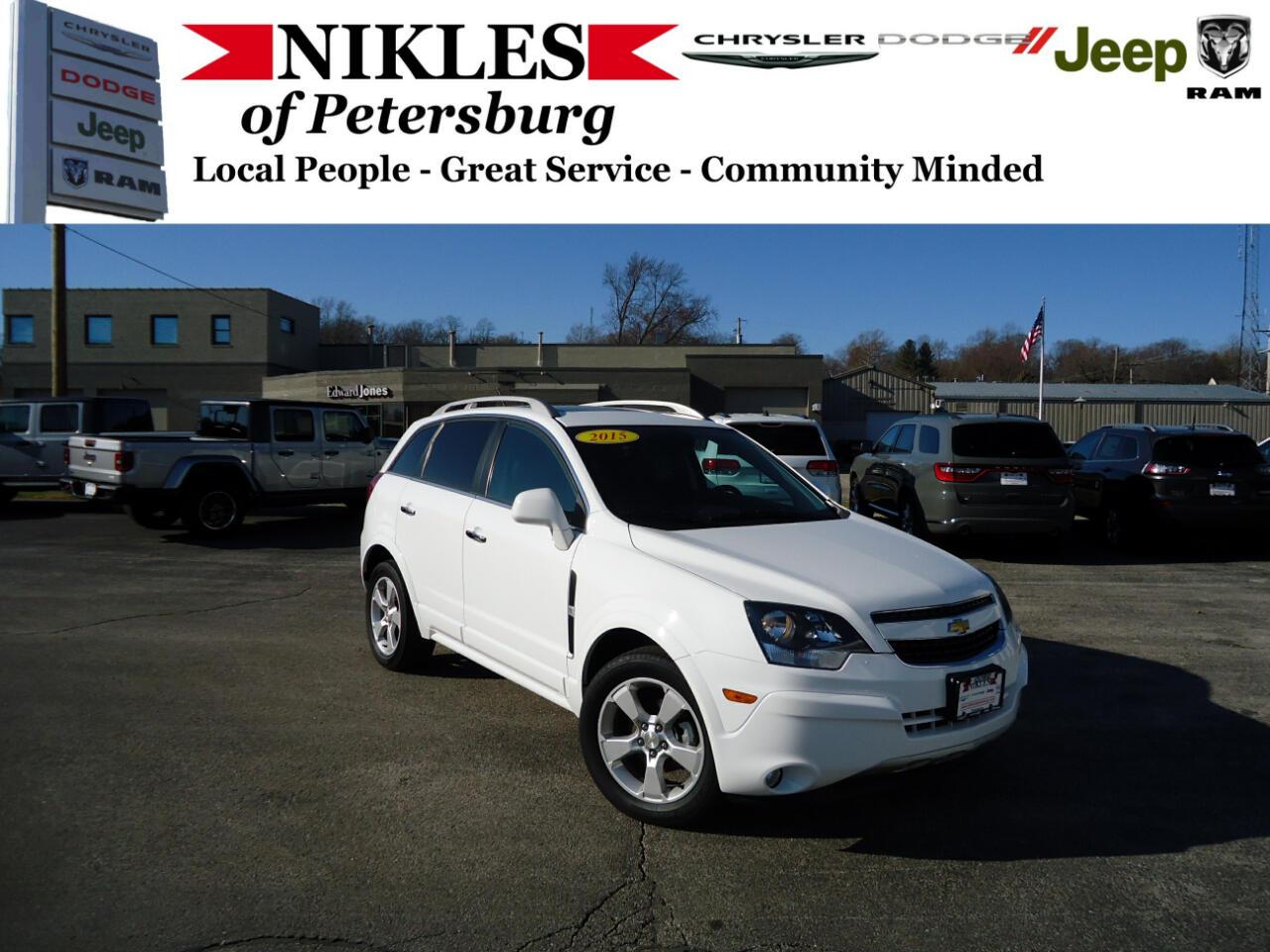 Chevrolet Captiva Sport Fleet FWD 4dr LTZ 2015