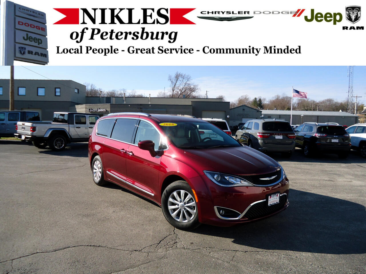 Chrysler Pacifica 4dr Wgn Touring-L Plus 2018