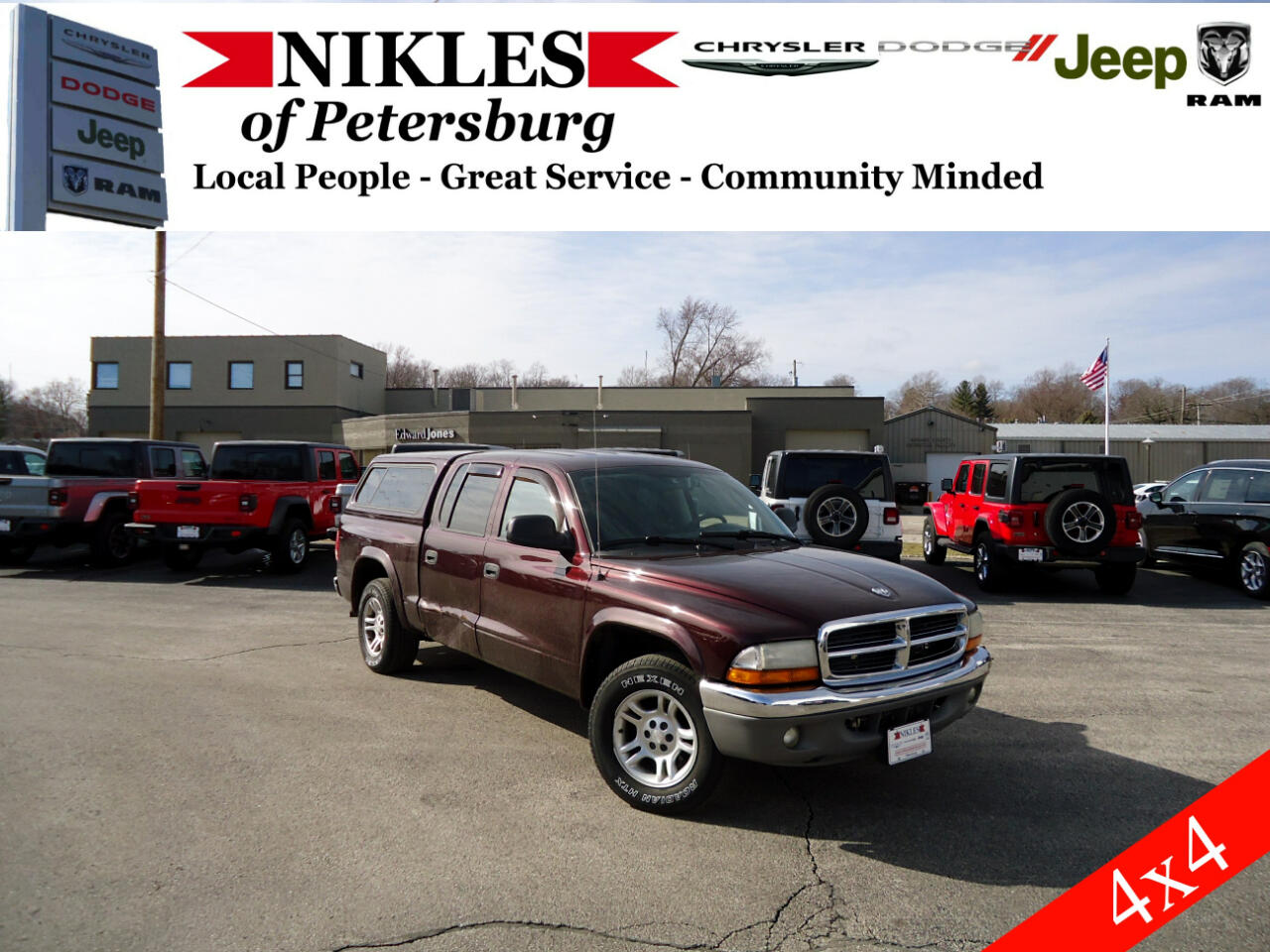 Dodge Dakota 2WD Crew Cab SLT 2004