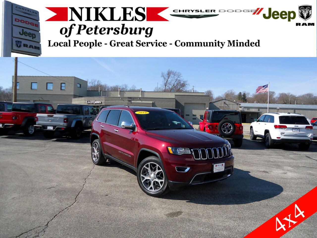 Jeep Grand Cherokee 4dr Limited 4WD 2019