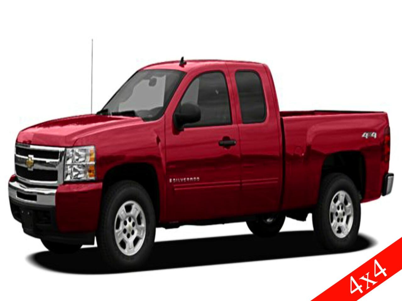 """Chevrolet Silverado 1500 4WD Ext Cab 143.5"""" LS 2011"""
