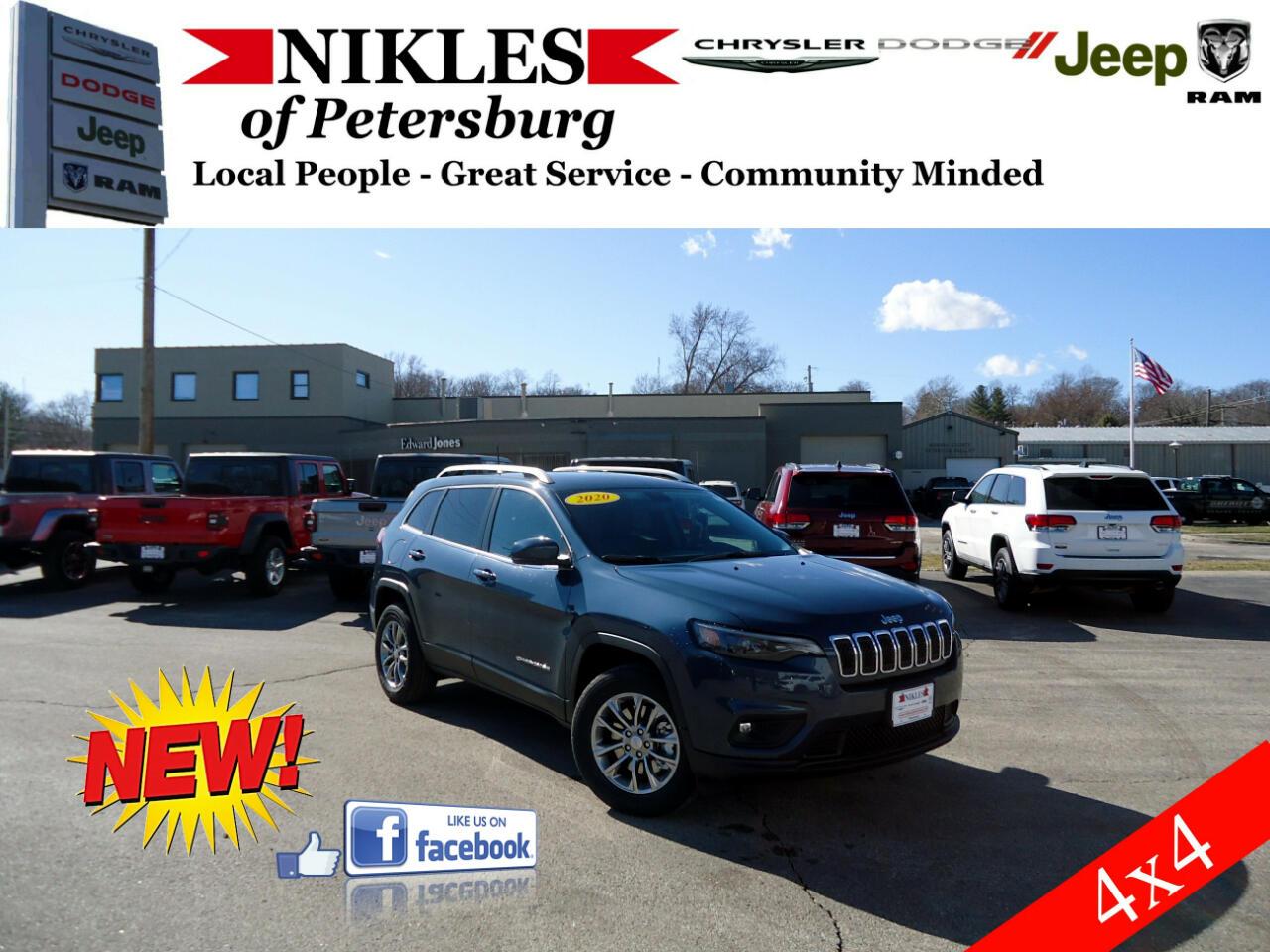 Jeep Cherokee Latitude Plus 4x4 2020