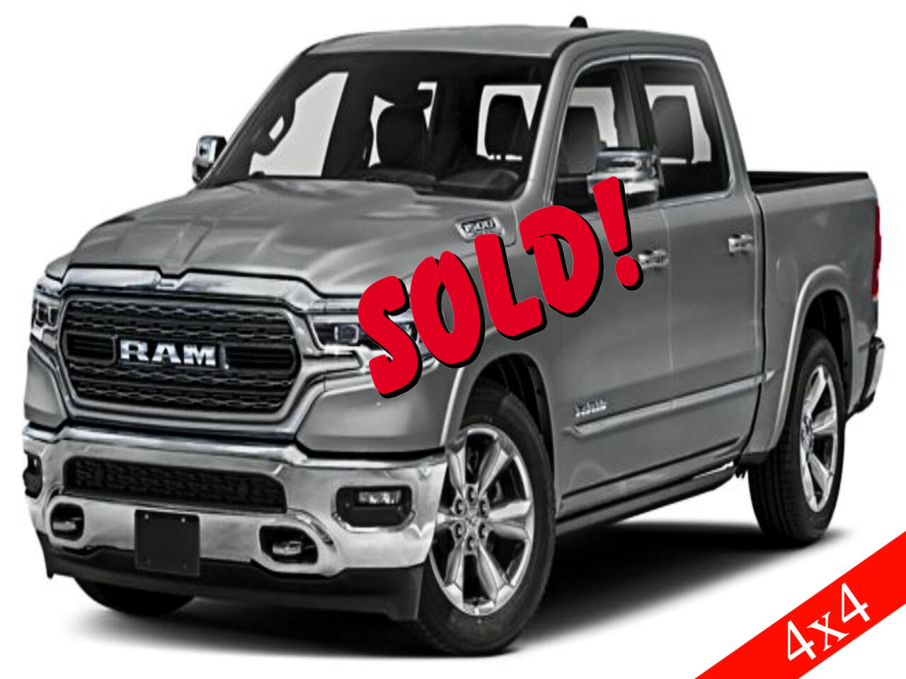 "RAM 1500 4WD Crew Cab 140.5"" Limited 2019"