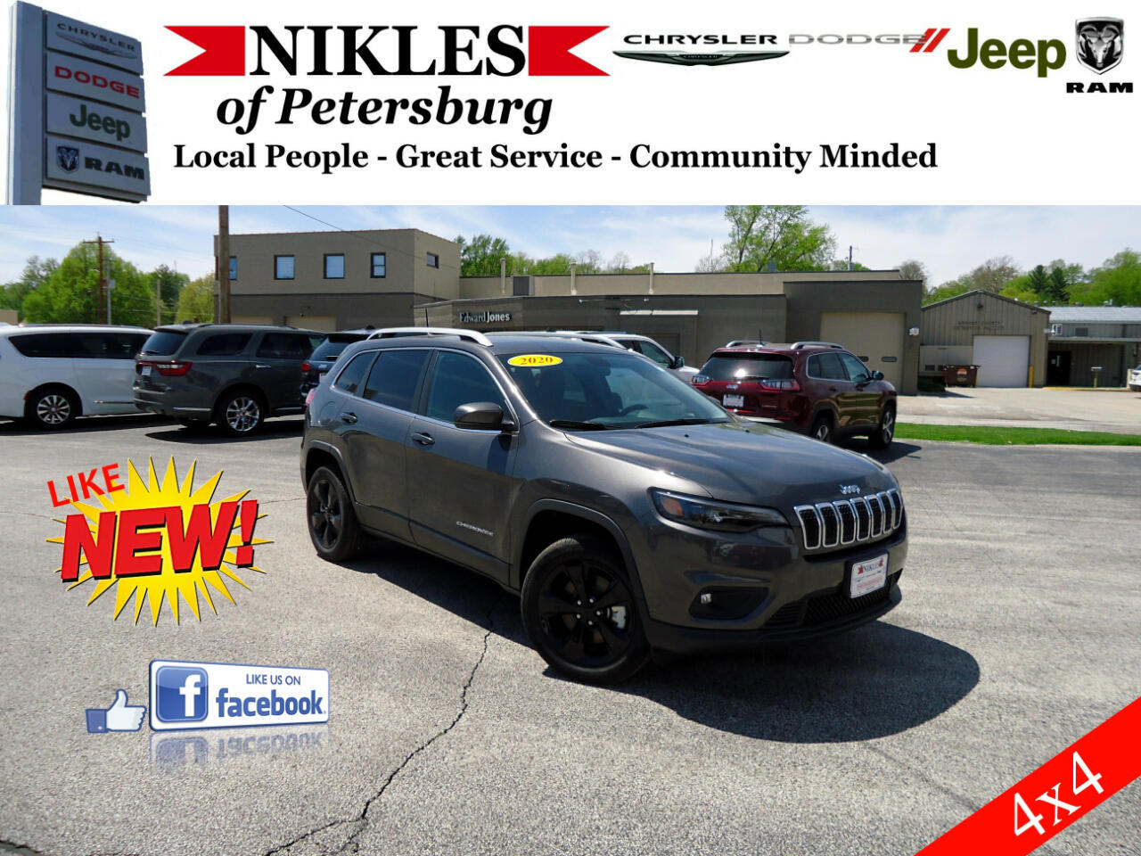 Jeep Cherokee 4WD 4dr Altitude 2020