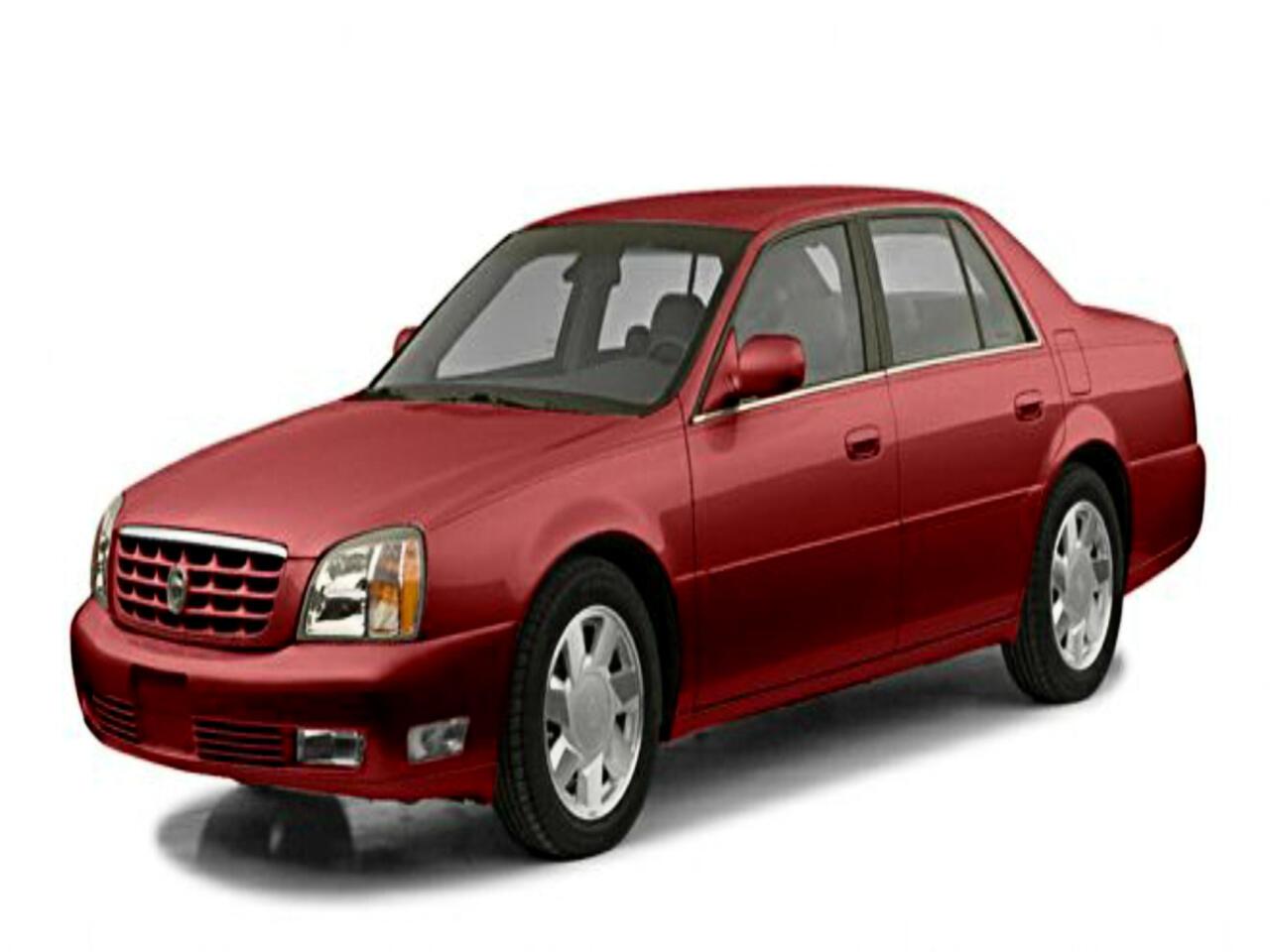 Cadillac DeVille 4dr Sdn 2002