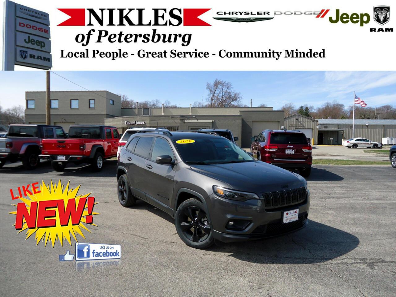 Jeep Cherokee FWD 4dr Latitude 2020