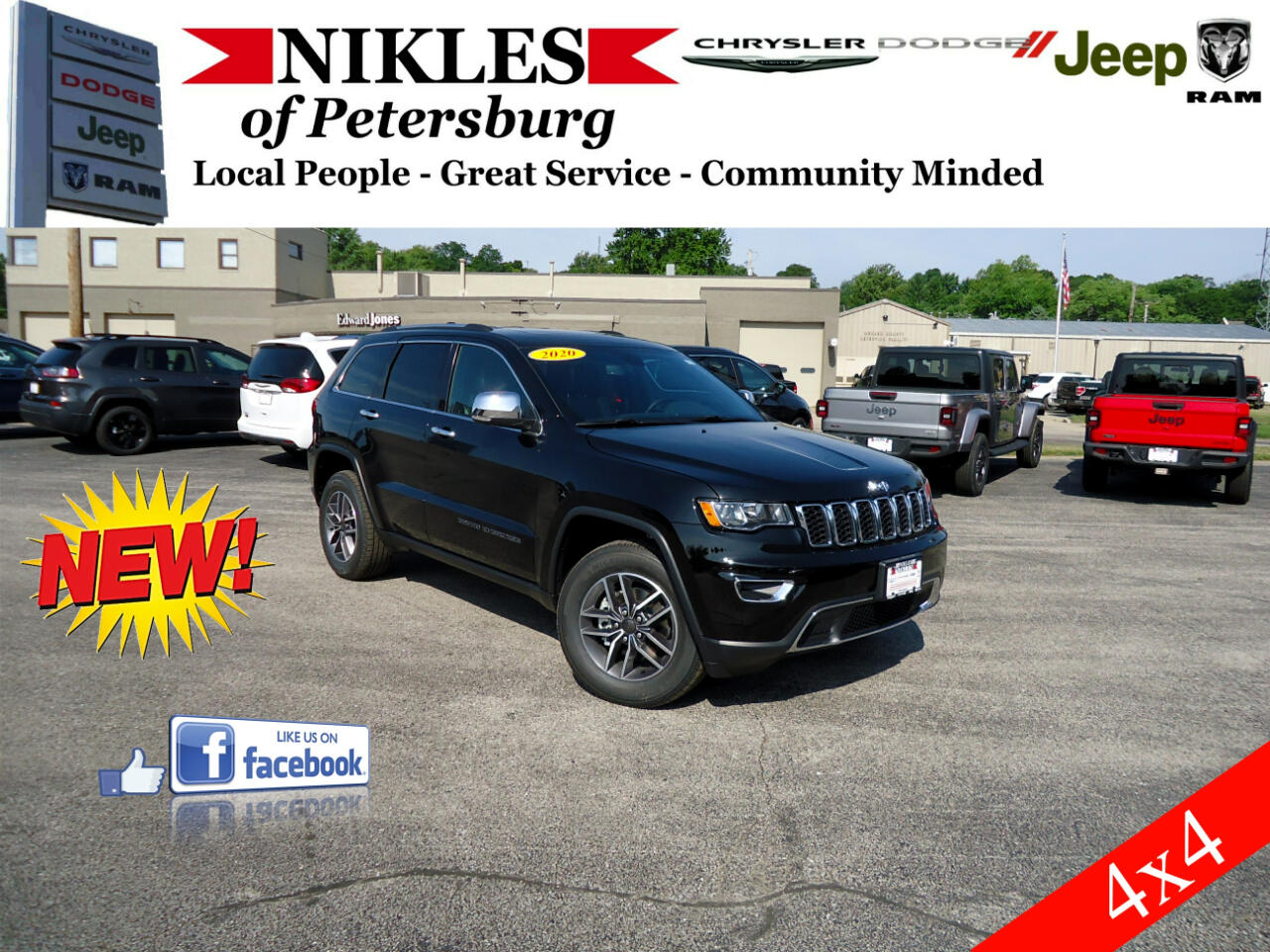 Jeep Grand Cherokee 4dr Limited 4WD 2020