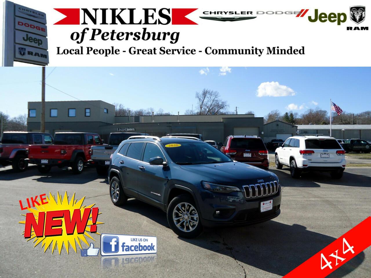 Jeep Cherokee 4WD 4dr Latitude 2020