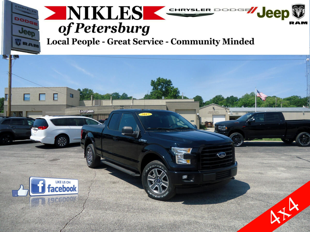 "Ford F-150 4WD SuperCab 133"" XLT 2017"