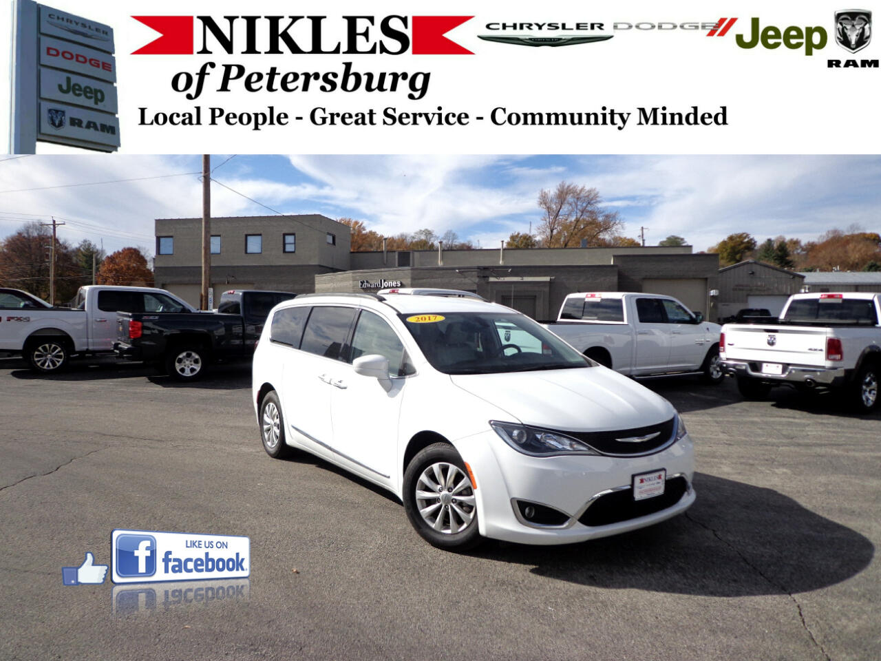 Chrysler Pacifica 4dr Wgn Touring-L Plus 2017
