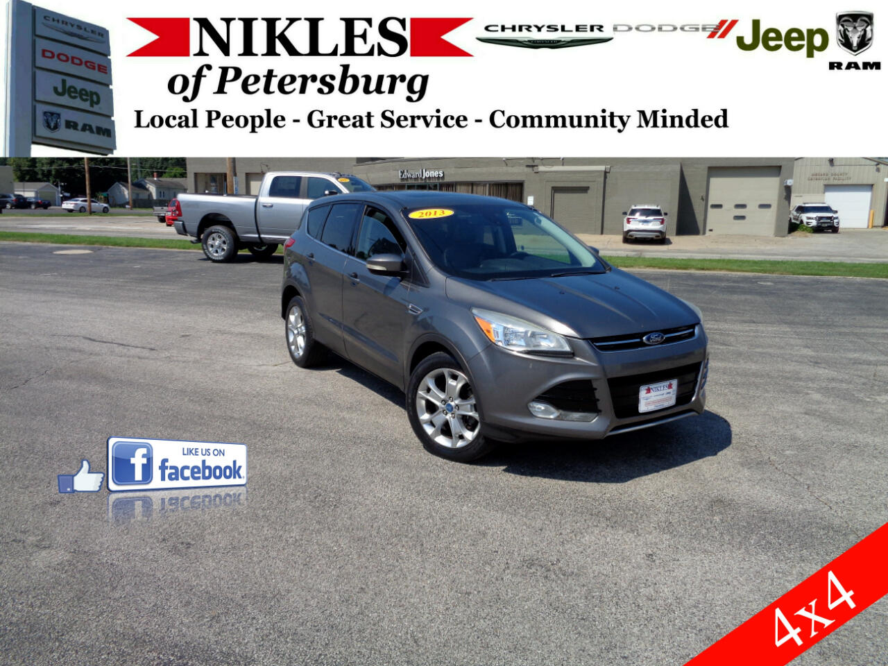 Ford Escape 4WD 4dr Limited 2013